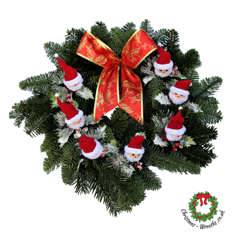 gold-bow-red-decortion-christmas-wreath